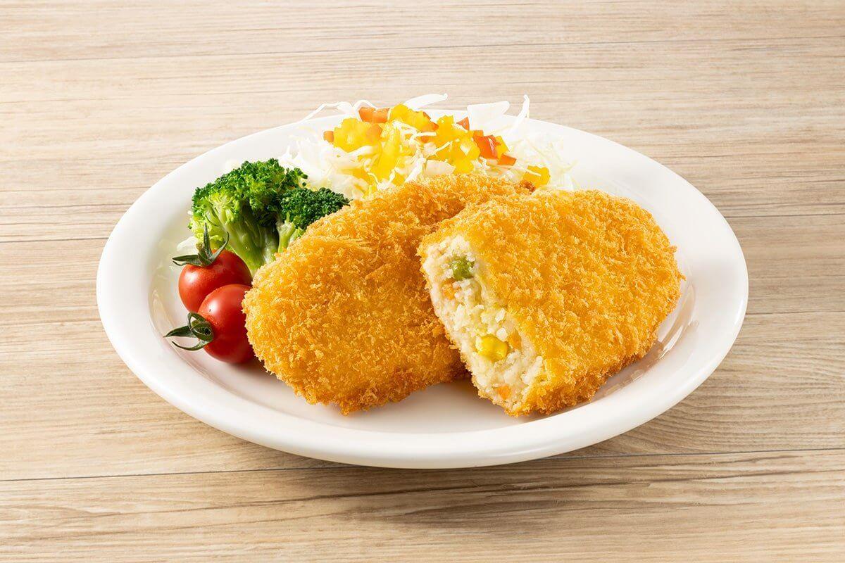 デリカむかしのコロッケ(野菜)
