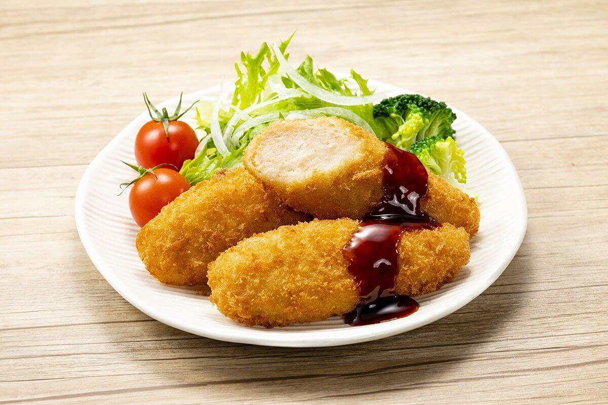 鶏ささみフライ(甘辛タレ付)